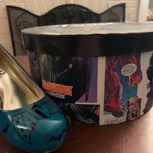 Shoes - Custom made Batman heels with box, only worn once!